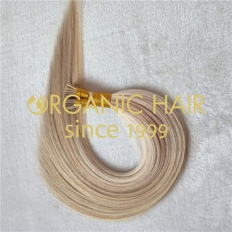 Per-bonded virgin human hair extensions best quality in China L2